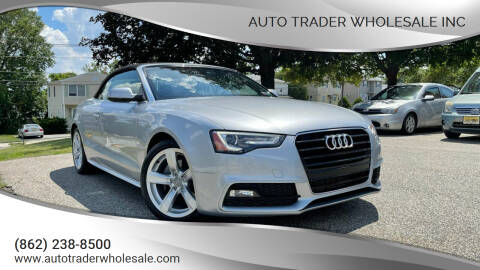 2016 Audi A5 for sale at Auto Trader Wholesale Inc in Saddle Brook NJ