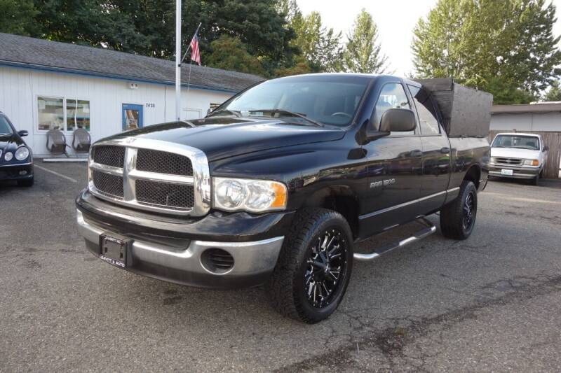 2005 Dodge Ram Pickup 1500 for sale at Leavitt Auto Sales and Used Car City in Everett WA