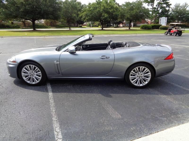 2011 Jaguar XK for sale at BALKCUM AUTO INC in Wilmington NC