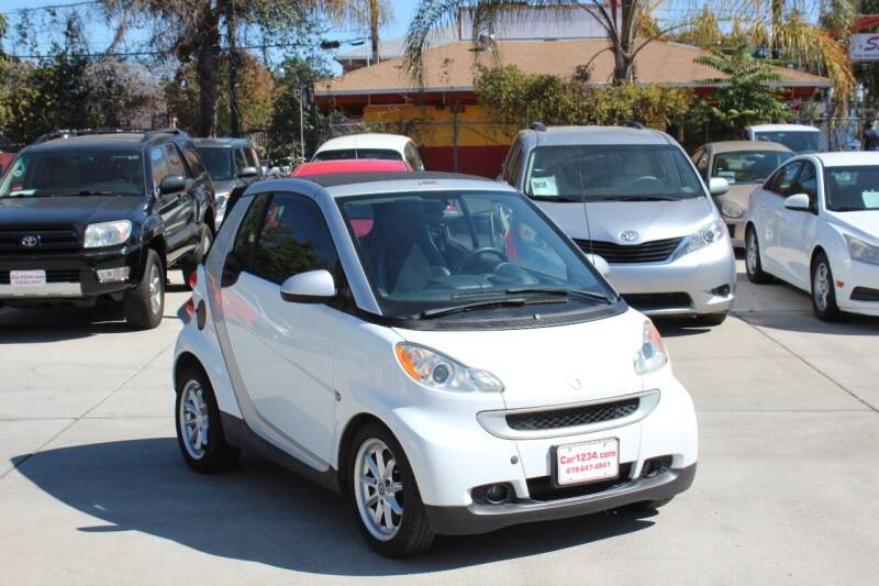 2009 Smart fortwo for sale at Car 1234 inc in El Cajon CA