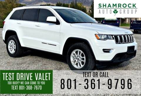 2019 Jeep Grand Cherokee for sale at Shamrock Group LLC #1 in Pleasant Grove UT