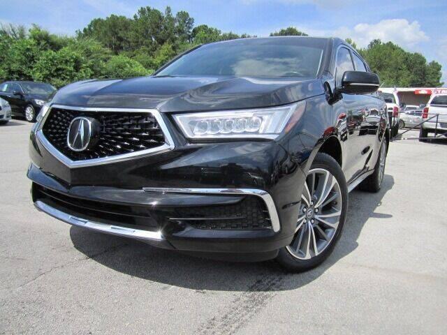2017 Acura MDX for sale at Atlanta Luxury Motors Inc. in Buford GA