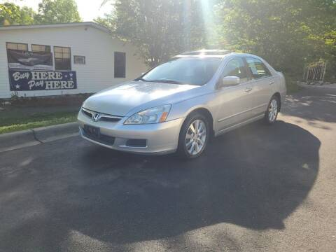 2006 Honda Accord for sale at TR MOTORS in Gastonia NC