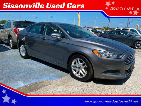 2013 Ford Fusion for sale at Sissonville Used Cars in Charleston WV