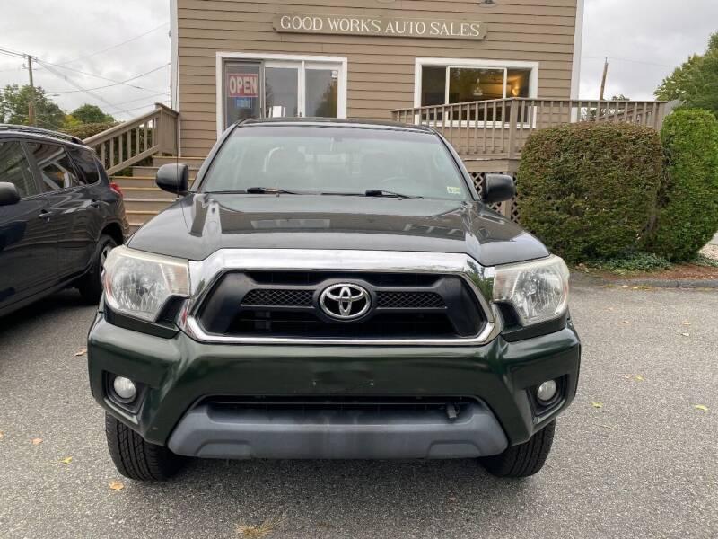 2014 Toyota Tacoma for sale at Good Works Auto Sales INC in Ashland MA