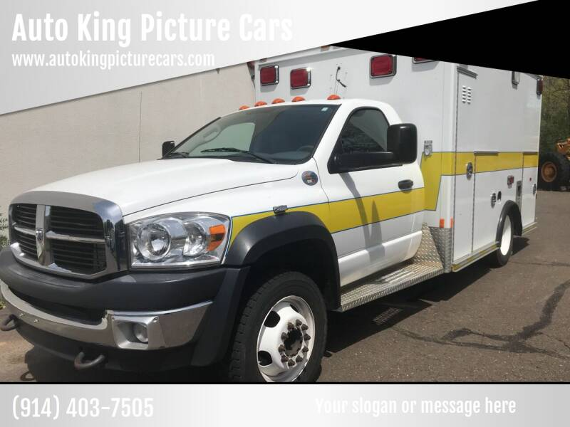 2009 Dodge Ram Chassis 4500 for sale at Auto King Picture Cars in Pound Ridge NY