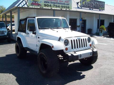 2010 Jeep Wrangler for sale at LONGSTREET AUTO in St Augustine FL