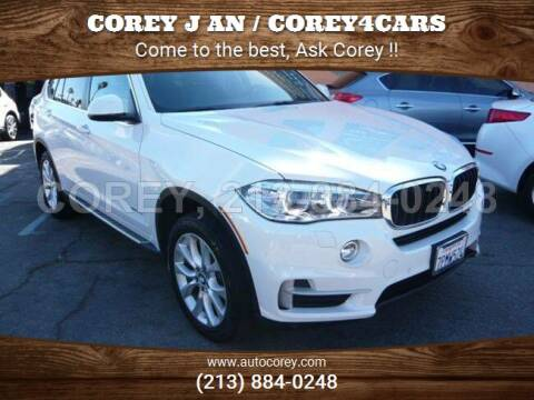 2016 BMW X5 for sale at WWW.COREY4CARS.COM / COREY J AN in Los Angeles CA
