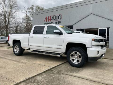 2017 Chevrolet Silverado 1500 for sale at A & H Auto Sales in Clanton AL