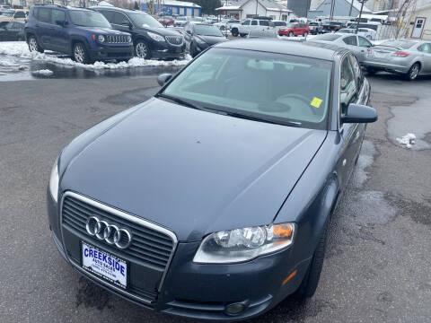 2006 Audi A4 for sale at Creekside Auto Sales in Pocatello ID