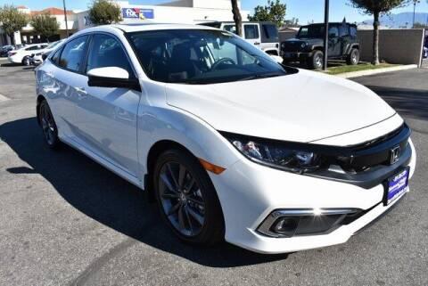 2021 Honda Civic for sale at DIAMOND VALLEY HONDA in Hemet CA
