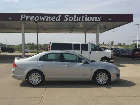 2010 Ford Fusion Hybrid for sale at Preowned Solutions in Urbandale IA