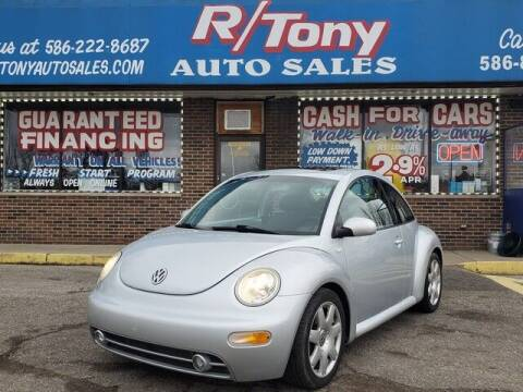 2003 Volkswagen New Beetle for sale at R Tony Auto Sales in Clinton Township MI