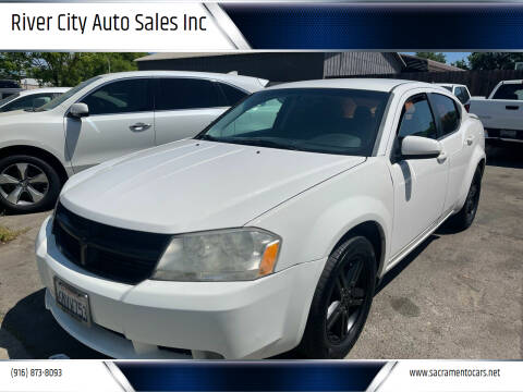 2010 Dodge Avenger for sale at River City Auto Sales Inc in West Sacramento CA
