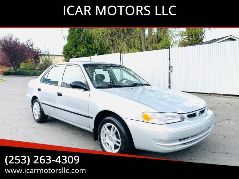 1999 Toyota Corolla for sale at ICAR MOTORS LLC in Federal Way WA