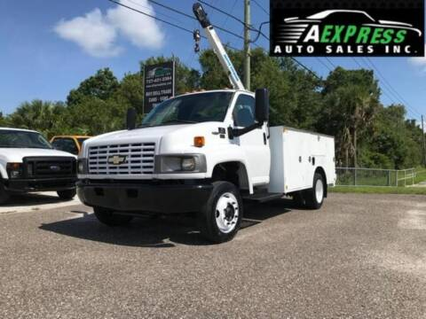 2004 Chevrolet C5500 for sale at A EXPRESS AUTO SALES INC in Tarpon Springs FL