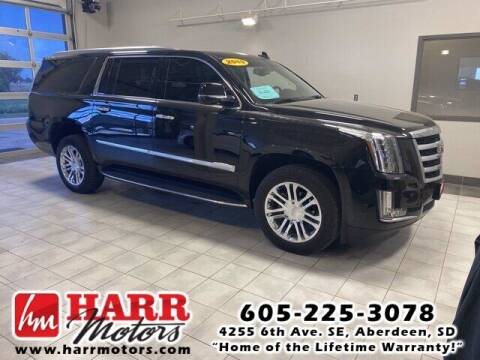 2019 Cadillac Escalade ESV for sale at Harr's Redfield Ford in Redfield SD