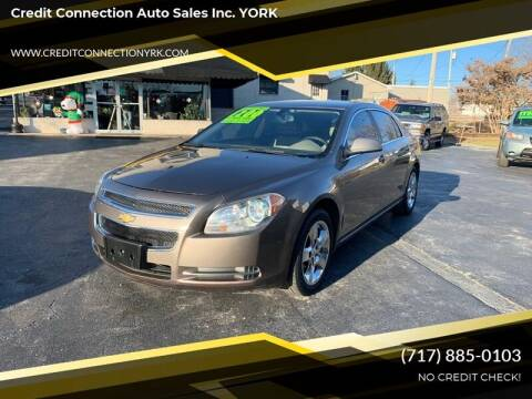 2011 Chevrolet Malibu for sale at Credit Connection Auto Sales Inc. YORK in York PA