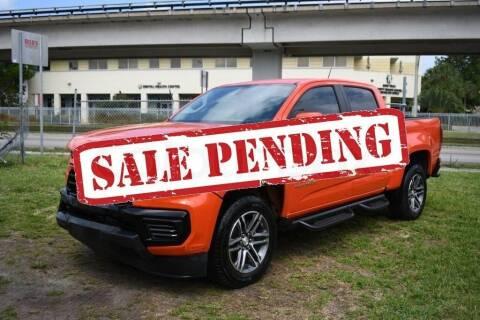 2021 Chevrolet Colorado for sale at STS Automotive - Miami, FL in Miami FL
