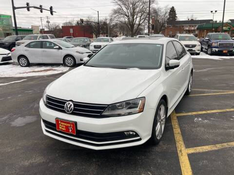 2017 Volkswagen Jetta for sale at RABIDEAU'S AUTO MART in Green Bay WI