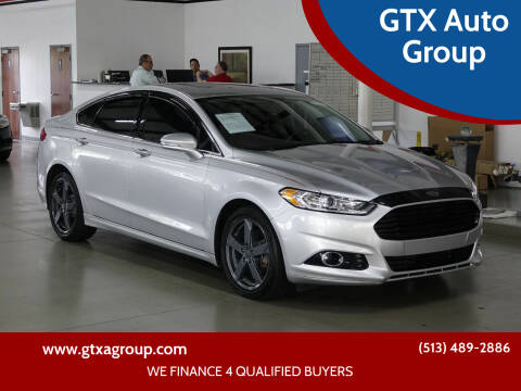 2014 Ford Fusion for sale at GTX Auto Group in West Chester OH