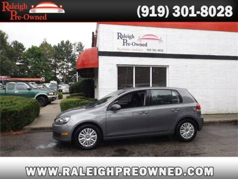 2012 Volkswagen Golf for sale at Raleigh Pre-Owned in Raleigh NC