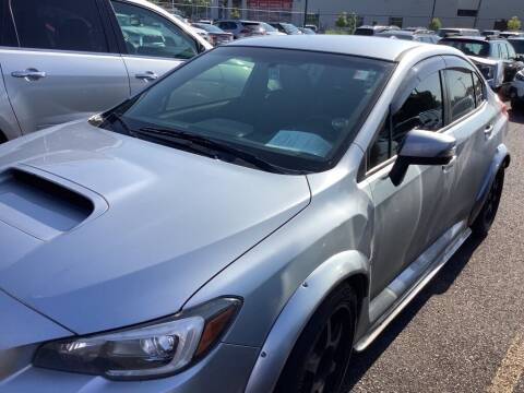 2016 Subaru WRX for sale at Royal Moore Custom Finance in Hillsboro OR