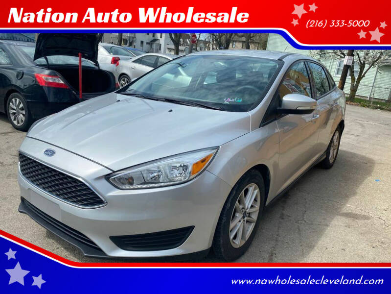 2015 Ford Focus for sale at Nation Auto Wholesale in Cleveland OH