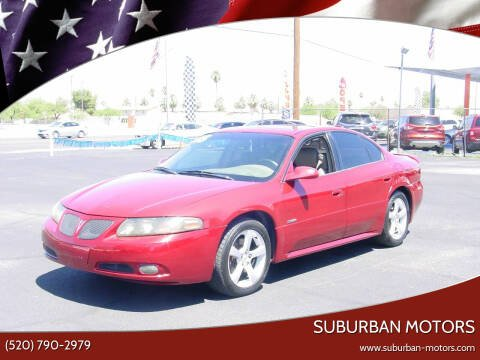 2005 Pontiac Bonneville for sale at Suburban Motors in Tucson AZ