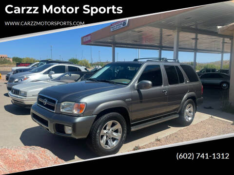2004 Nissan Pathfinder for sale at Carzz Motor Sports in Fountain Hills AZ