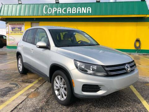 2014 Volkswagen Tiguan for sale at Trans Copacabana Auto Sales in Hollywood FL