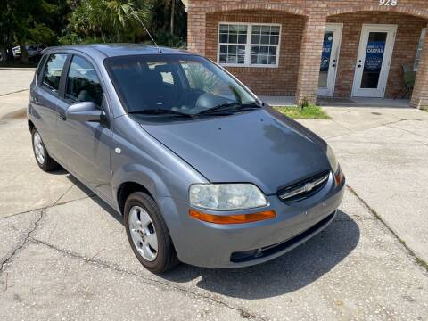 2007 Chevrolet Aveo for sale at MITCHELL AUTO ACQUISITION INC. in Edgewater FL