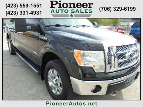 2012 Ford F-150 for sale at PIONEER AUTO SALES LLC in Cleveland TN