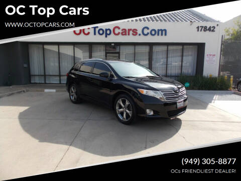 2012 Toyota Venza for sale at OC Top Cars in Irvine CA