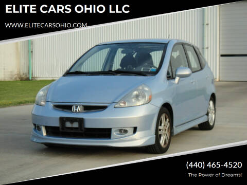 2008 Honda Fit for sale at ELITE CARS OHIO LLC in Solon OH