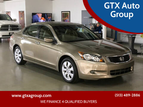 2009 Honda Accord for sale at GTX Auto Group in West Chester OH
