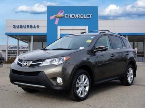 2015 Toyota RAV4 for sale at Suburban Chevrolet of Ann Arbor in Ann Arbor MI