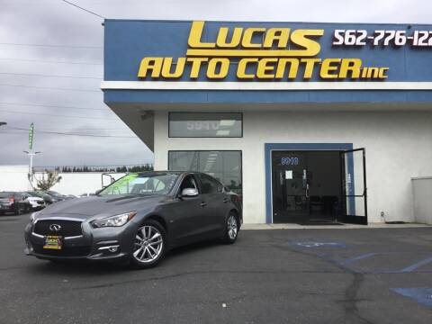 2017 Infiniti Q50 for sale at Lucas Auto Center in South Gate CA