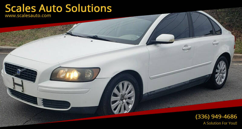 2005 Volvo S40 for sale at Scales Auto Solutions in Madison NC