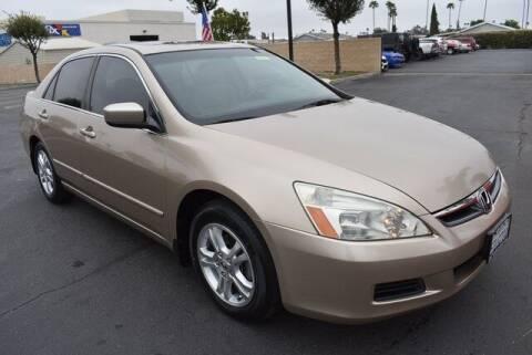 2006 Honda Accord for sale at DIAMOND VALLEY HONDA in Hemet CA
