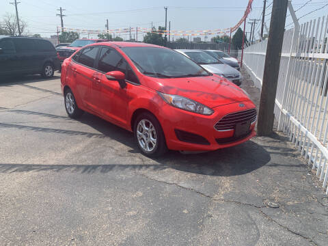 2014 Ford Fiesta for sale at Robert B Gibson Auto Sales INC in Albuquerque NM