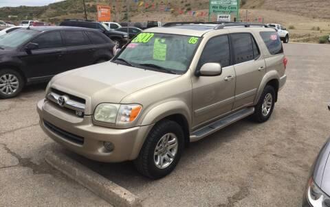 2005 Toyota Sequoia for sale at Hilltop Motors in Globe AZ