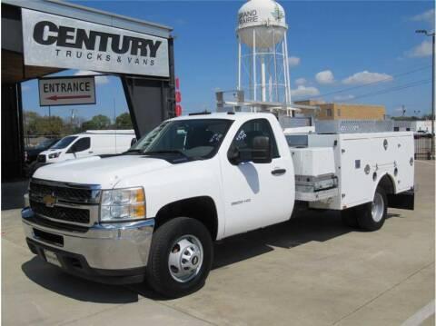 2012 Chevrolet 3500 Silverado DRW for sale at CENTURY TRUCKS & VANS in Grand Prairie TX