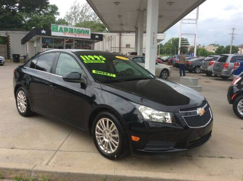 2014 Chevrolet Cruze for sale at Harrison Family Motors in Topeka KS