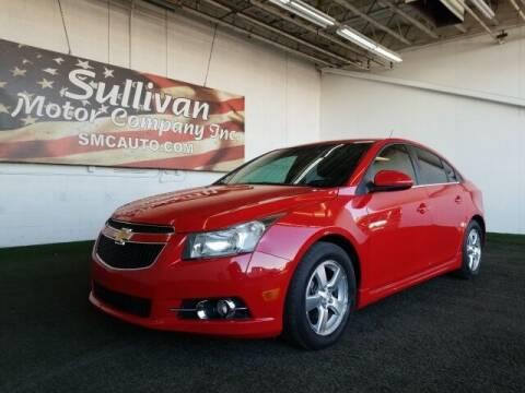 2012 Chevrolet Cruze for sale at SULLIVAN MOTOR COMPANY INC. in Mesa AZ