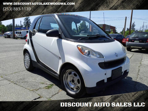 2008 Smart fortwo for sale at DISCOUNT AUTO SALES LLC in Lakewood WA