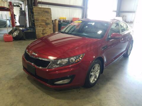 2013 Kia Optima for sale at Hometown Automotive Service & Sales in Holliston MA