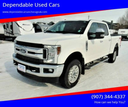 2018 Ford F-250 Super Duty for sale at Dependable Used Cars in Anchorage AK
