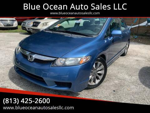 2010 Honda Civic for sale at Blue Ocean Auto Sales LLC in Tampa FL