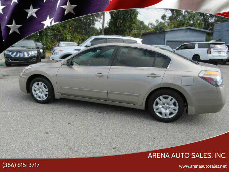 2012 Nissan Altima for sale at ARENA AUTO SALES,  INC. in Holly Hill FL